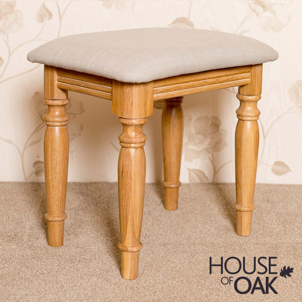 Lyon Oak Bedroom Stool