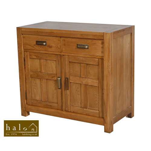Montana 2 Door Sideboard in Nibbed Oak
