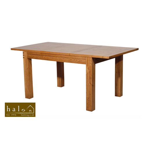 Montana 4FT Extending Table in Nibbed Oak