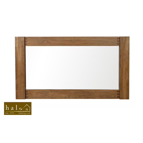 Montana Large Mirror in Nibbed Oak