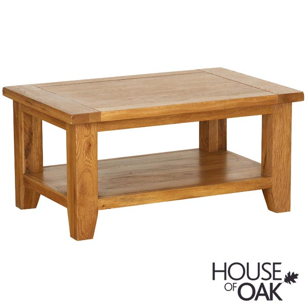 New Hampshire Oak Rectangular Coffee Table