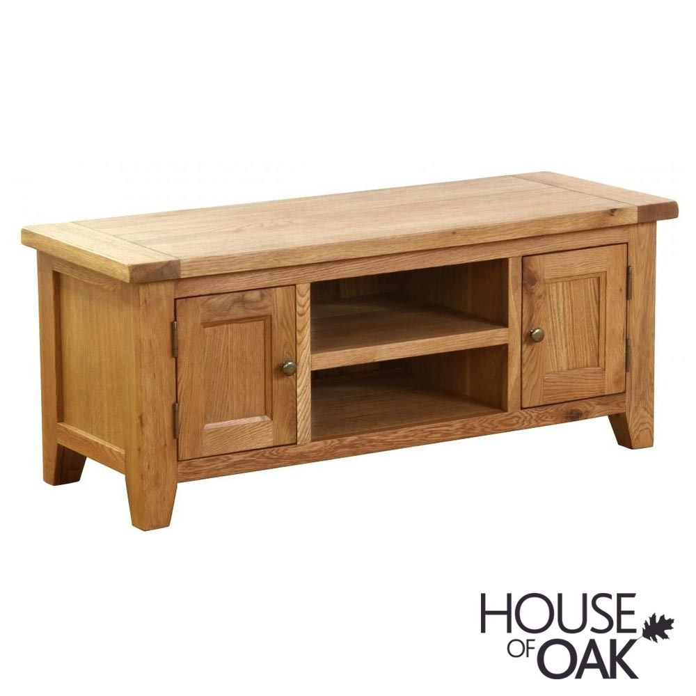 New Hampshire Oak 2 Door TV Unit