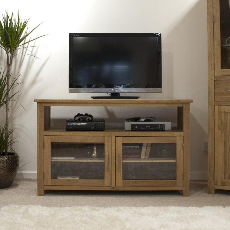 Opus Solid Oak Entertainment Centre