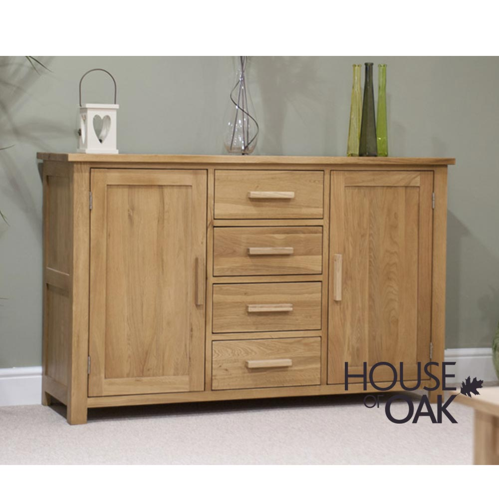 Opus Solid Oak Large Sideboard