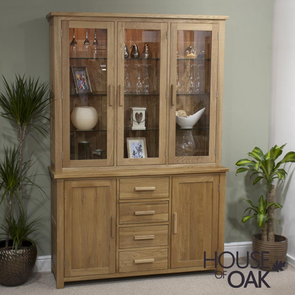 Opus Solid Oak Large Dresser