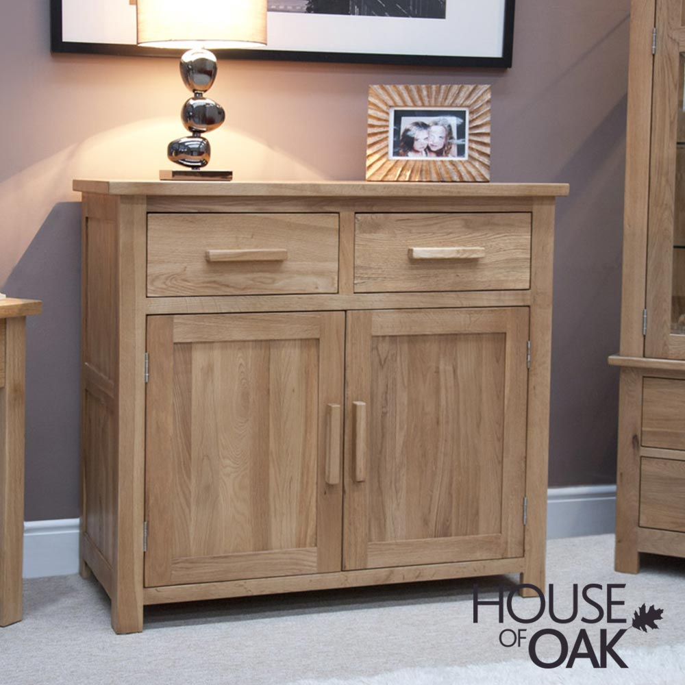Opus Solid Oak Small Sideboard