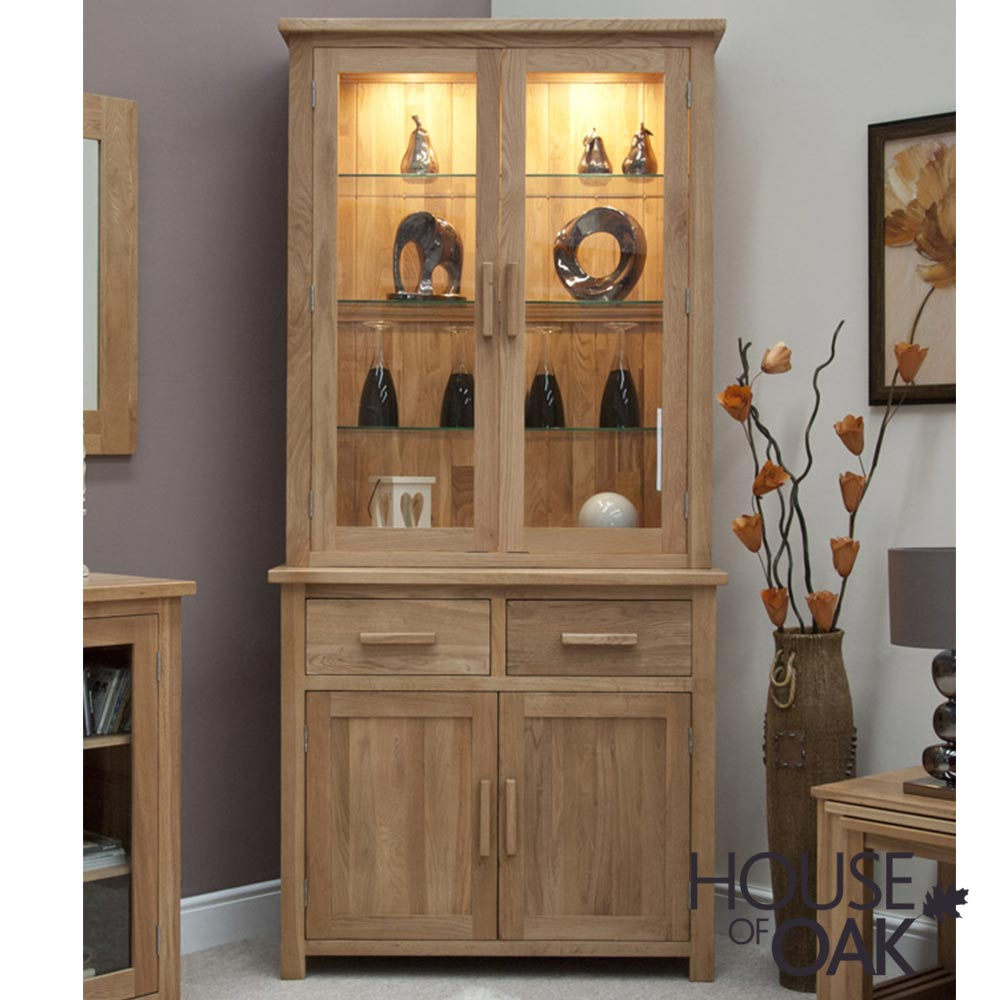 Opus Solid Oak Small Dresser