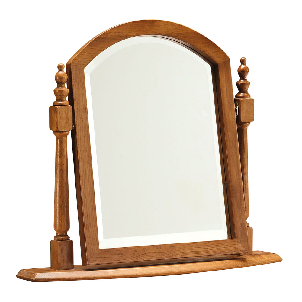 Clermont Oak Dressing Table Mirror
