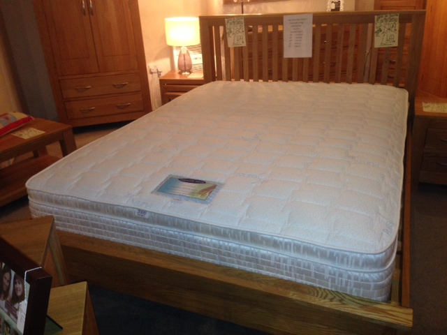 5FT Calypso 2000 Pocket with Memory Foam Mattress