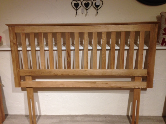 Simply Oak 4FT 6'' Oak Headboard