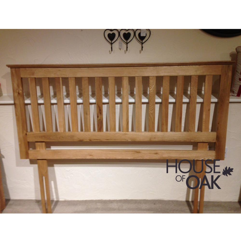 Opus Oak 5FT Oak Headboard