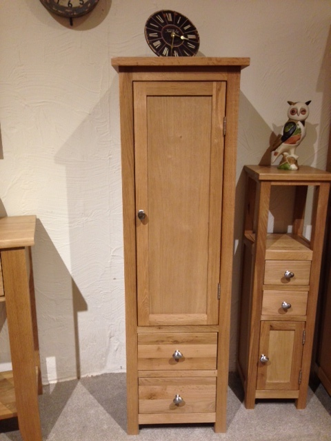 Simply Oak Tall Tower Cabinet
