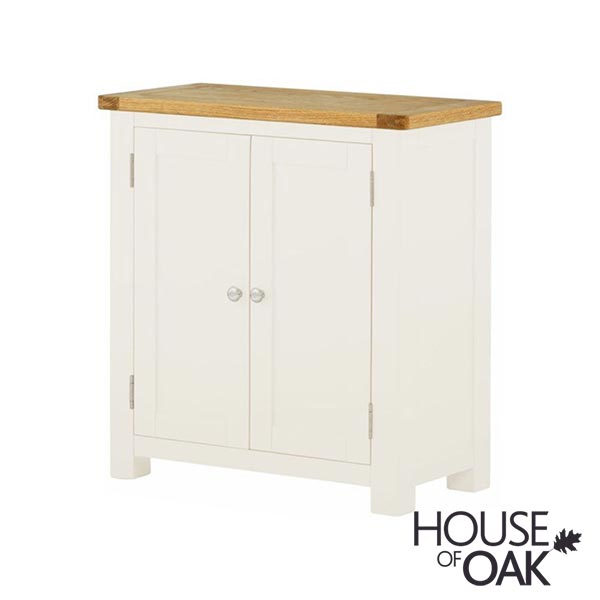 Portman Painted 2 Door Cabinet in White