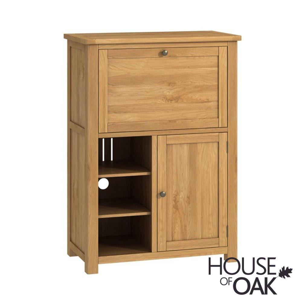 Portman Office Low Bureau in Oak