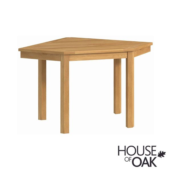Portman Office Corner Desk in Oak