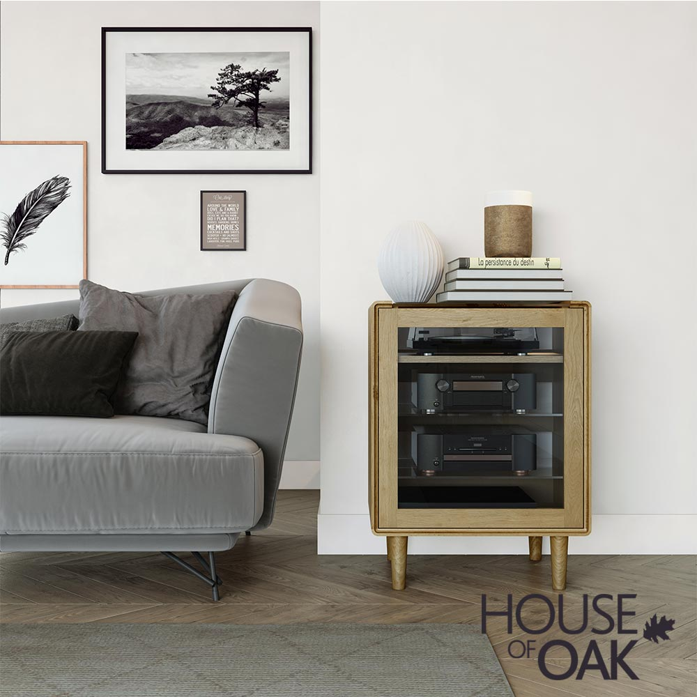 Scandic Oak - HiFi Unit