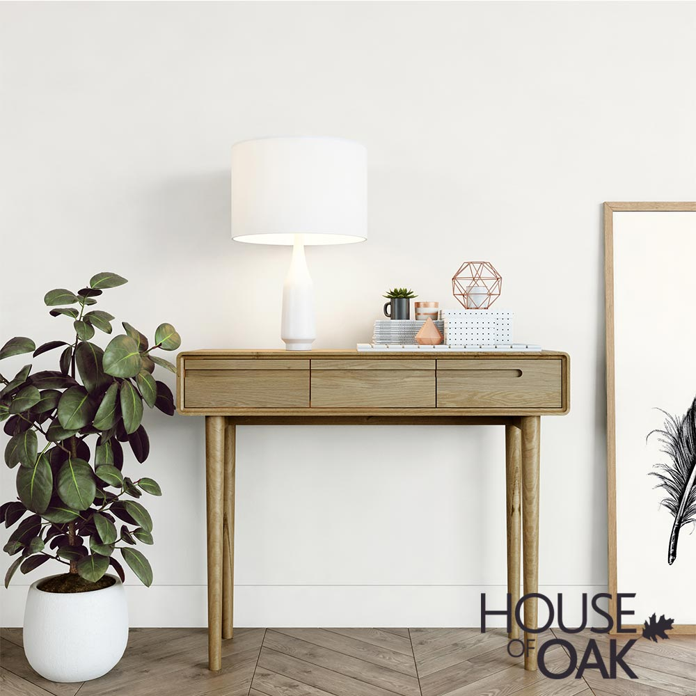 Scandic Oak - Hall Table