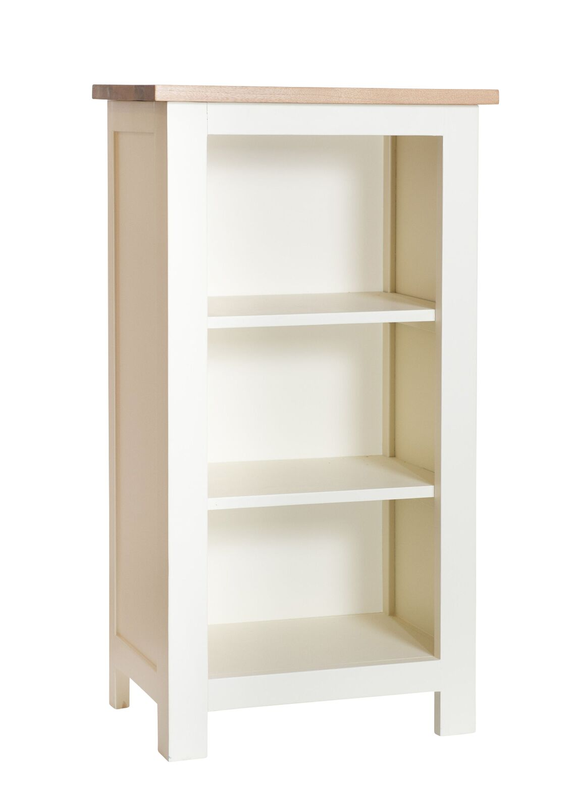 Simply Oak in Cream Small Bookcase