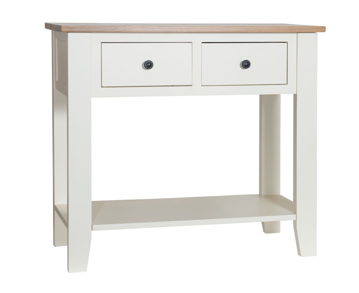 Simply Oak in Cream Small Hall Table
