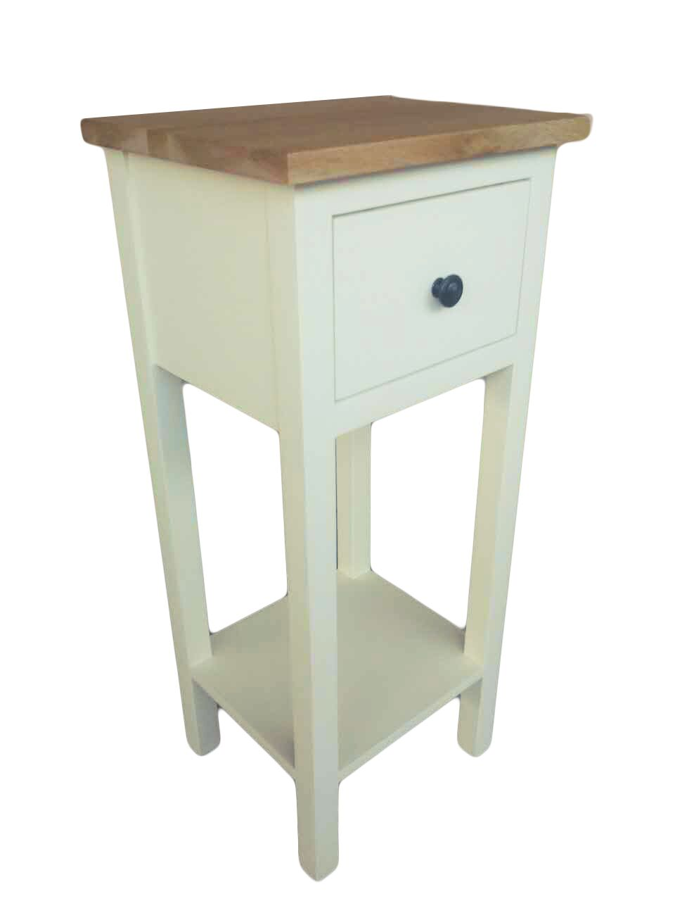 Simply Oak in Cream Small Telephone Table