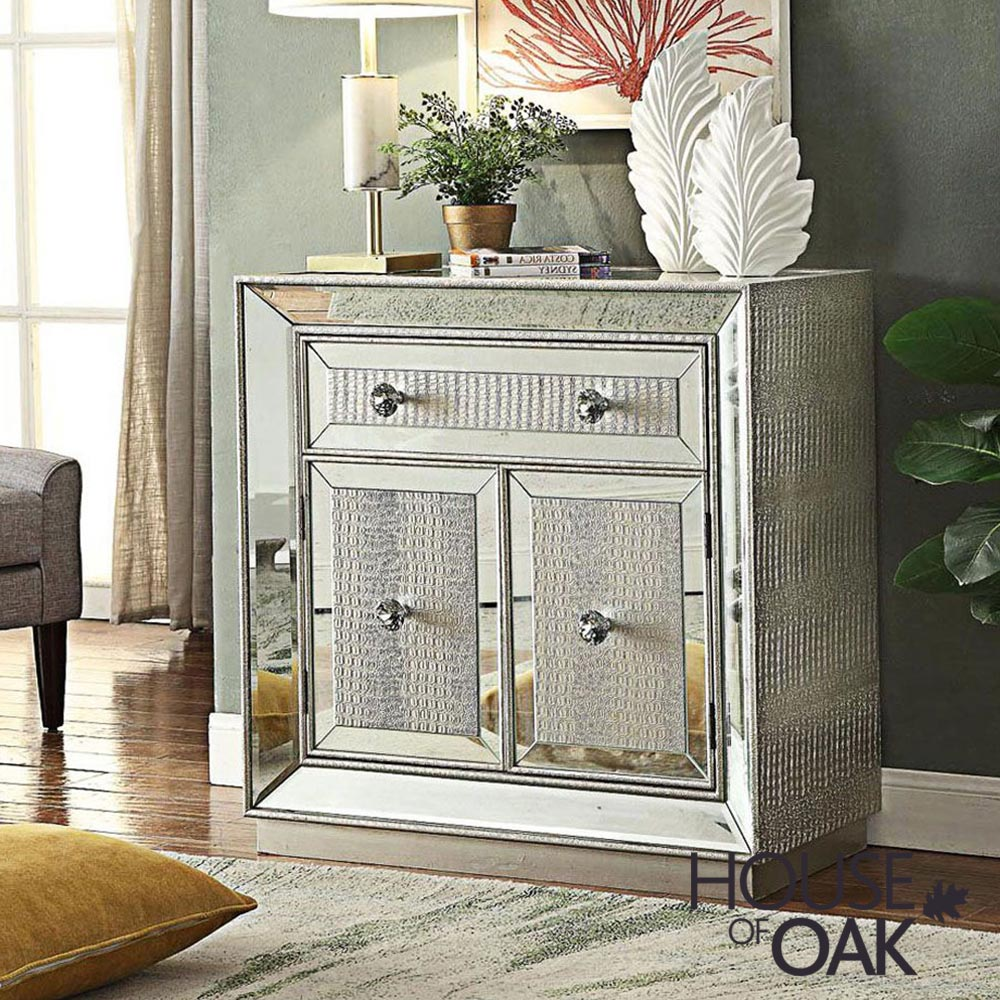 Mayfair Mirrored 2 Door Sideboard