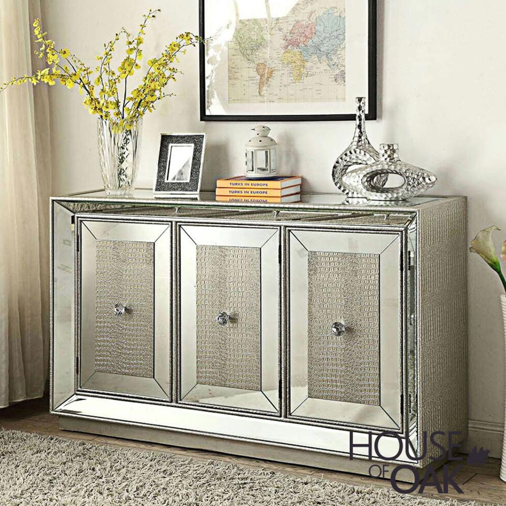 Mayfair Mirrored 3 Door Sideboard