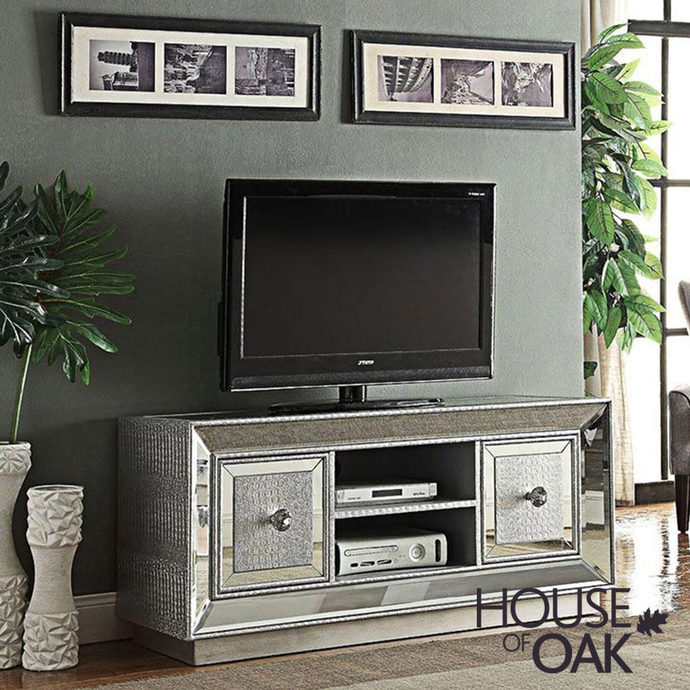 Mayfair Mirrored TV Unit