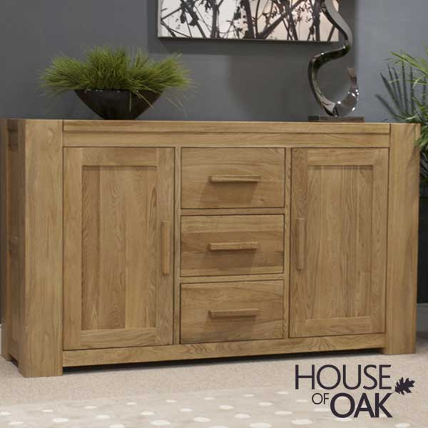 Pandora Solid Oak Large Sideboard