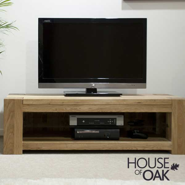 Pandora Solid Oak Plasma TV Unit