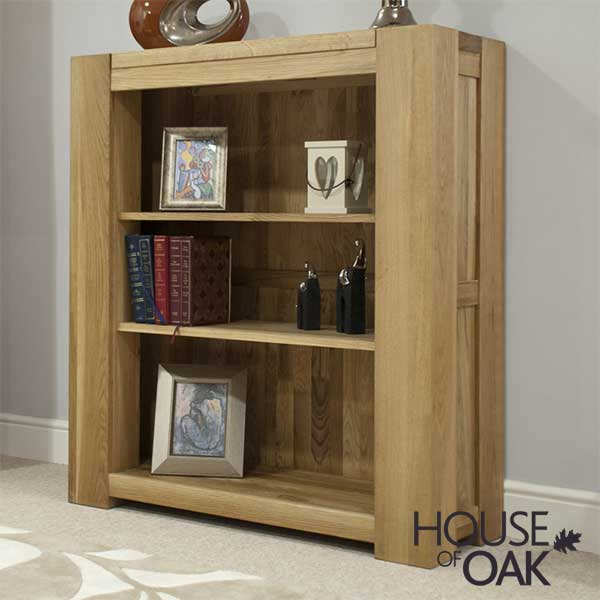 Pandora Solid Oak Small Bookcase