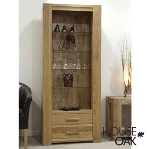 Pandora Solid Oak Bookcase (tall)