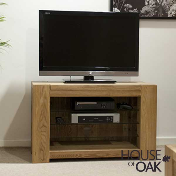 Pandora Solid Oak TV Cabinet
