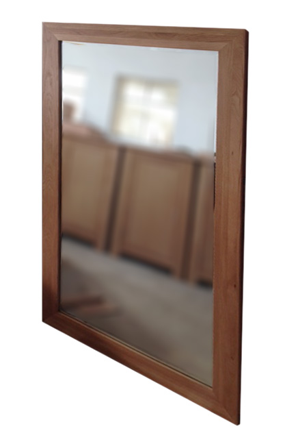Simply Oak 138cm x 78cm Wall Mirror