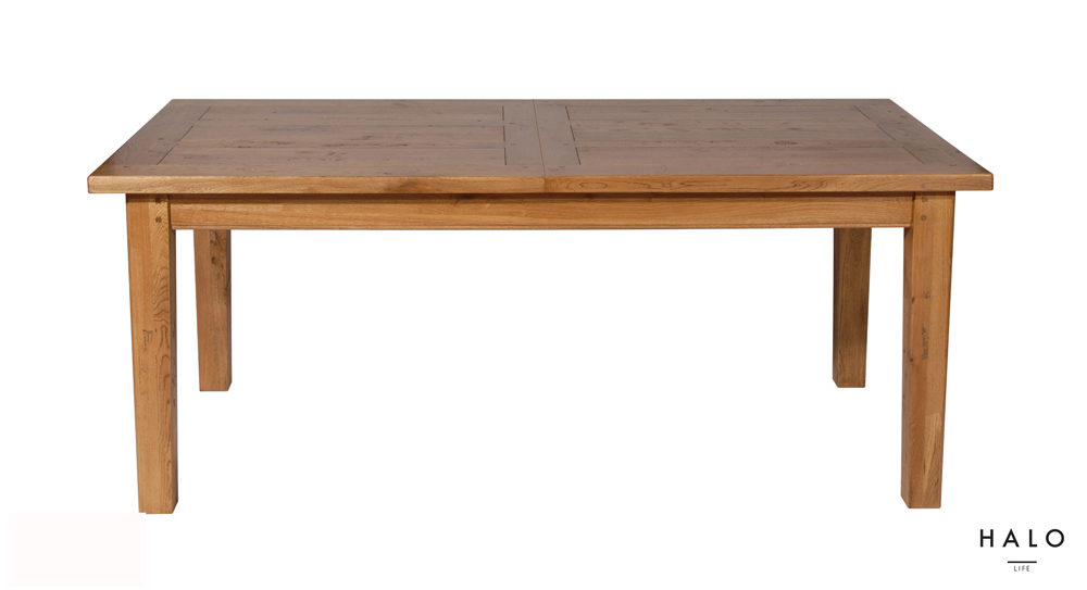 Wentworth 7FT Extending Dining Table in Nibbed Oak