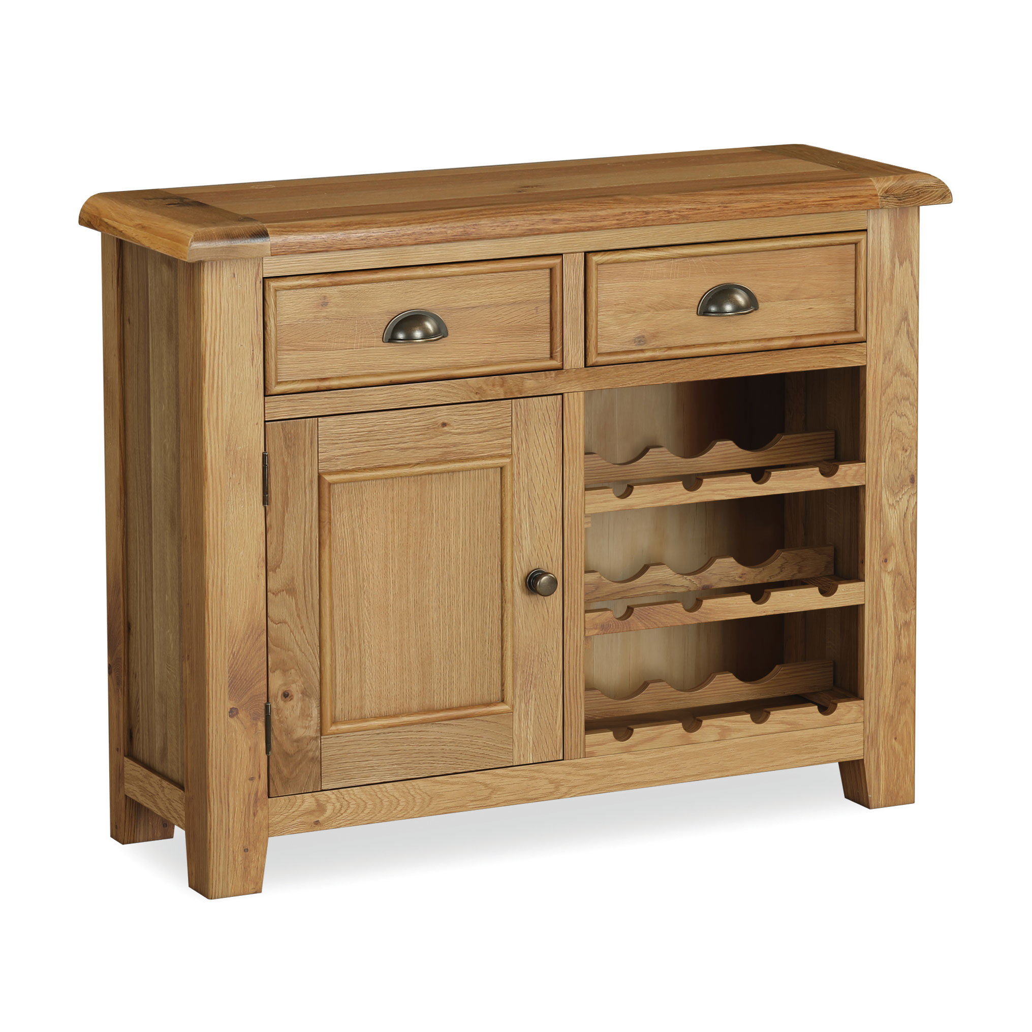 Windsor Oak Wine Cabinet