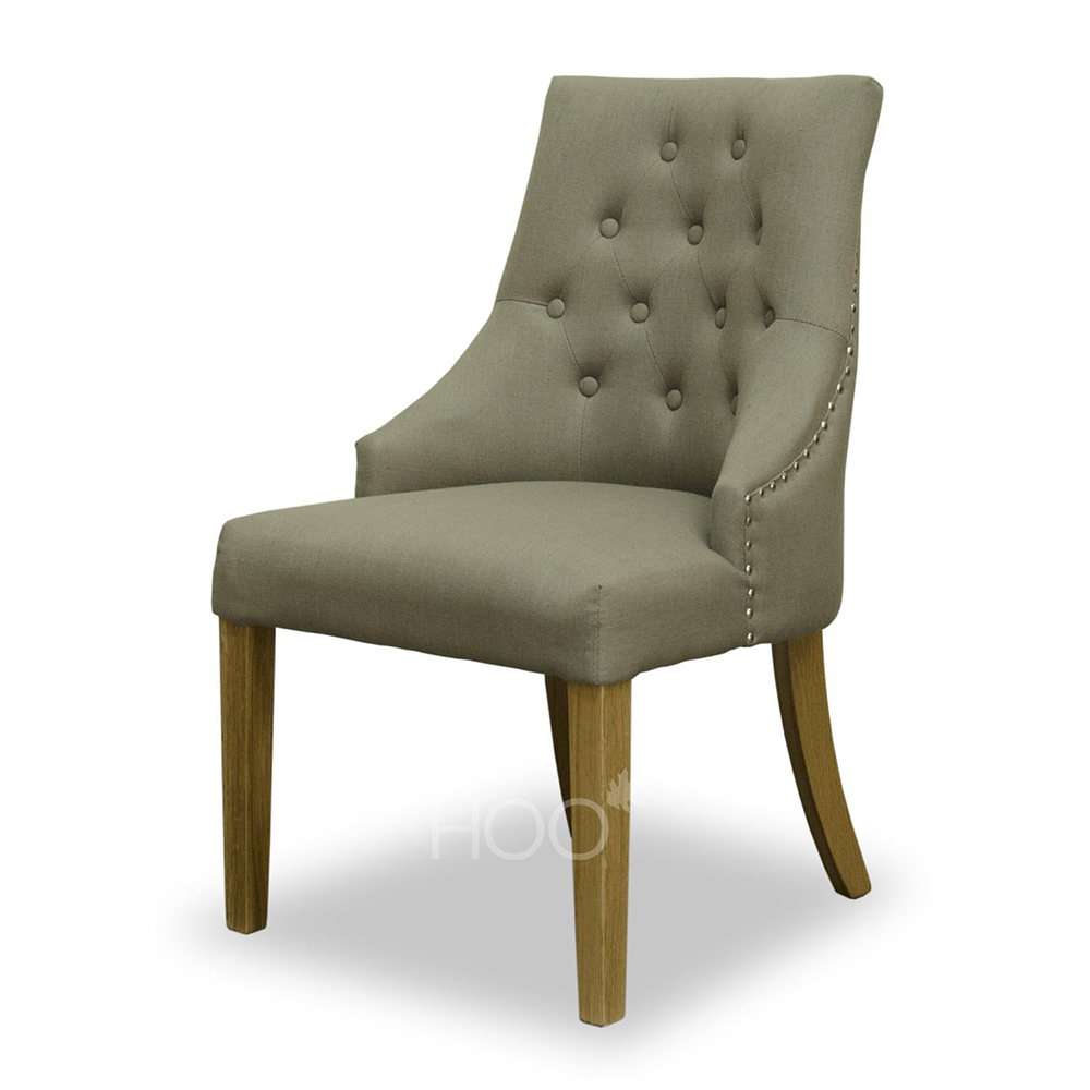 Windsor Sage Grey Fabric Chair