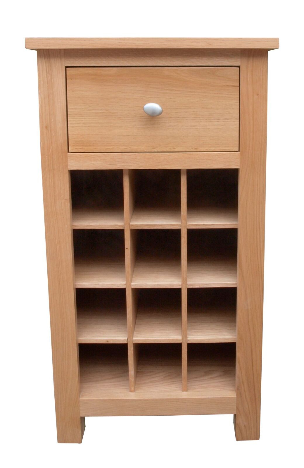 Simply Oak Wine Rack with Drawer