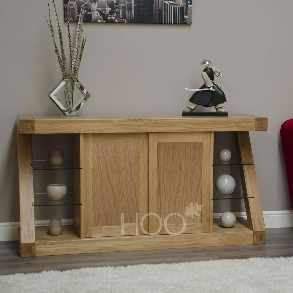 Z Oak Large Sideboard