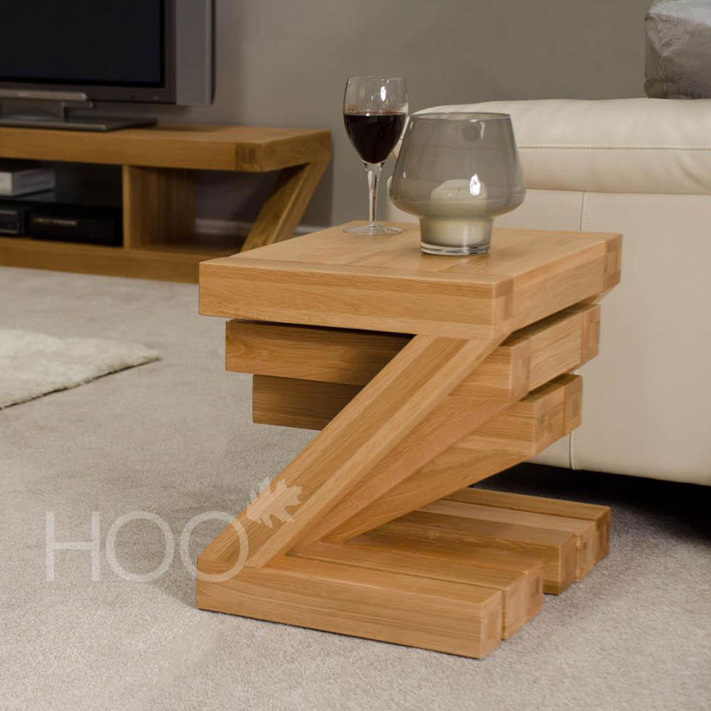 Z Oak Nest of Tables