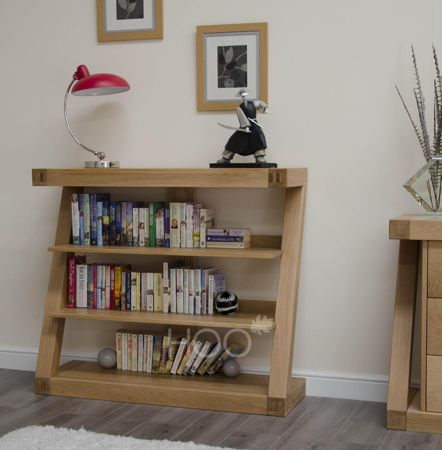 Z Oak Small Bookcase