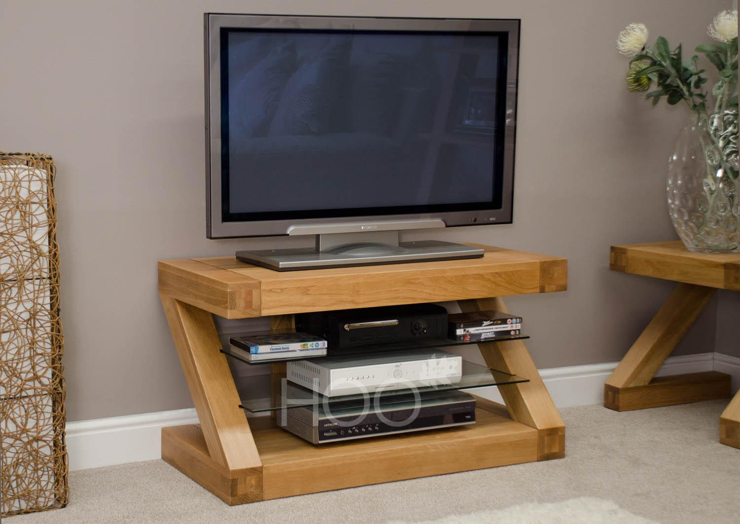 Z Oak TV Unit