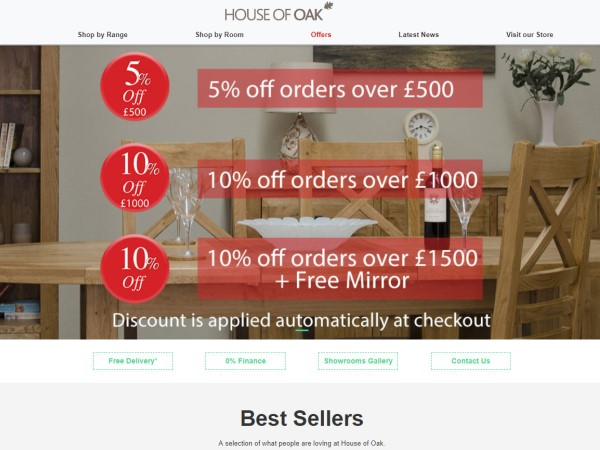 New Website Launched For House of Oak